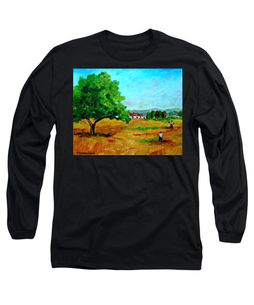 Autumn Preparing Long Sleeve T-Shirt
