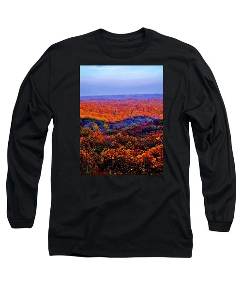 Autumn Rainbow Long Sleeve T-Shirt
