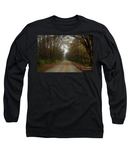 Autumn Road Long Sleeve T-Shirt