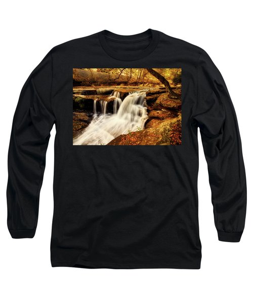 Autumn Solitude Long Sleeve T-Shirt by L O C