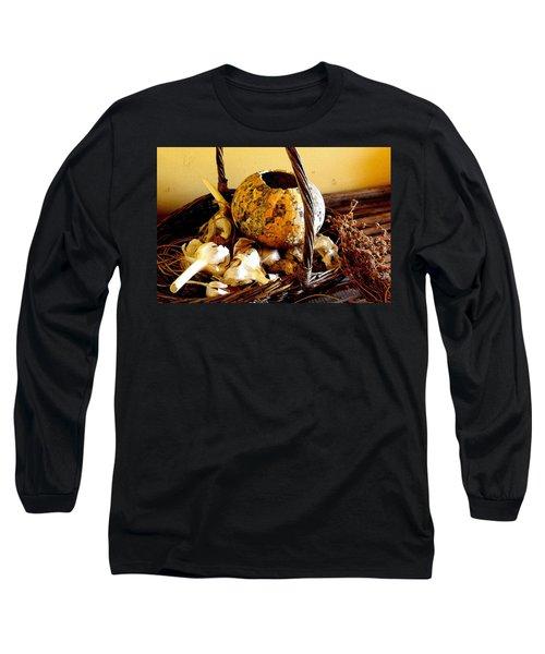 Autumn Still Life Long Sleeve T-Shirt