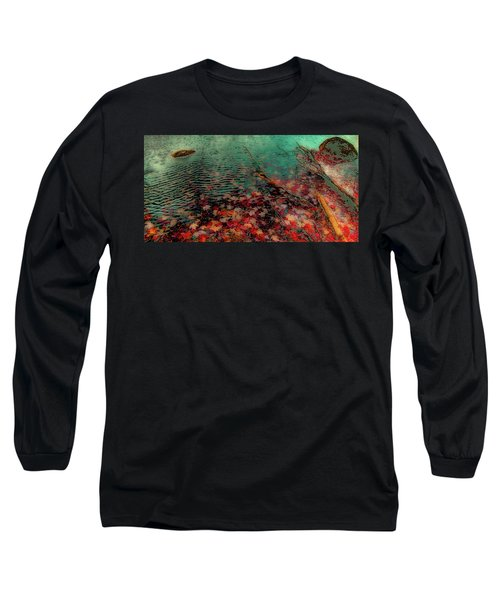 Long Sleeve T-Shirt featuring the photograph Autumn Submerged by David Patterson