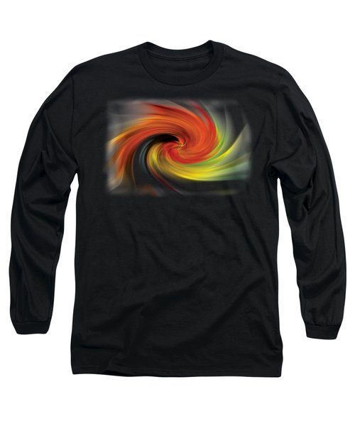 Autumn Swirl Long Sleeve T-Shirt