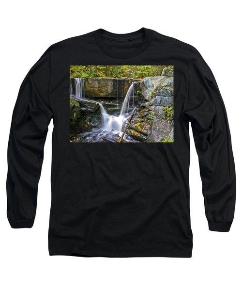 Autumn Waterfall Long Sleeve T-Shirt