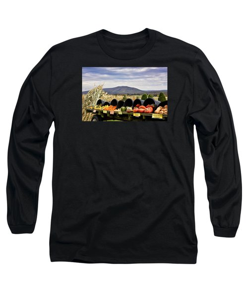 Autumnal Abundance In The Blue Ridge Mountains - Virginia Long Sleeve T-Shirt