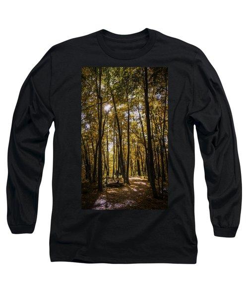 Autumns Fire Long Sleeve T-Shirt