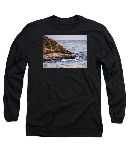 Awaiting The Call Long Sleeve T-Shirt by Glenn Feron
