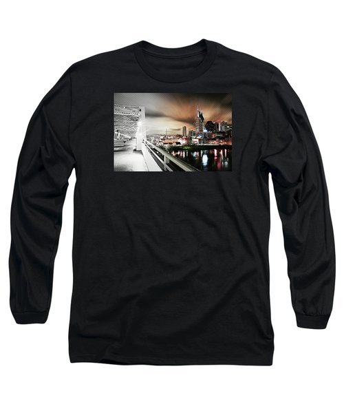 Awaiting The Dark Knight Long Sleeve T-Shirt by Matt Helm
