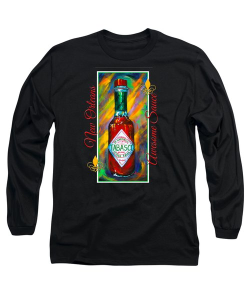 Awesome Sauce - Tabasco Long Sleeve T-Shirt