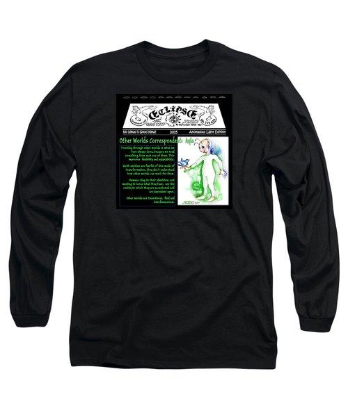Real Fake News Alien Correspondent 1 Long Sleeve T-Shirt
