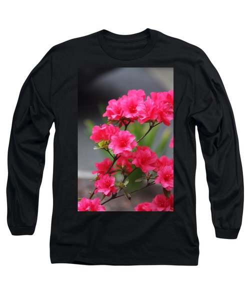 Long Sleeve T-Shirt featuring the photograph Azalea by Vadim Levin