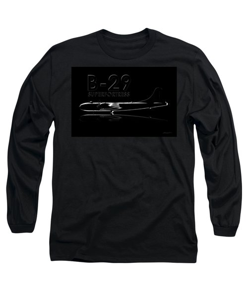 B-29 Superfortress Long Sleeve T-Shirt by David Collins