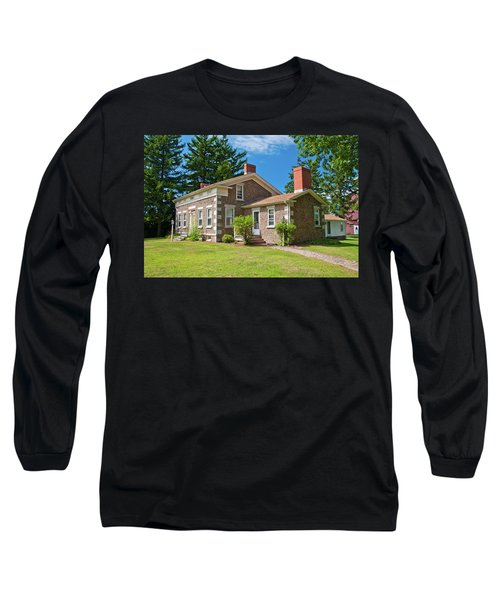 Long Sleeve T-Shirt featuring the photograph Babcock House Museum 2250 by Guy Whiteley