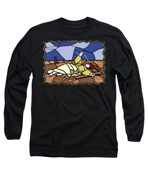 Babie Lato Stained Glass Version Long Sleeve T-Shirt