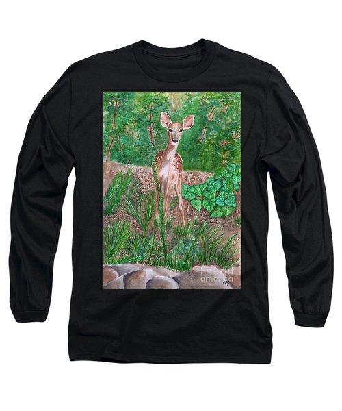 Baby Deer Long Sleeve T-Shirt