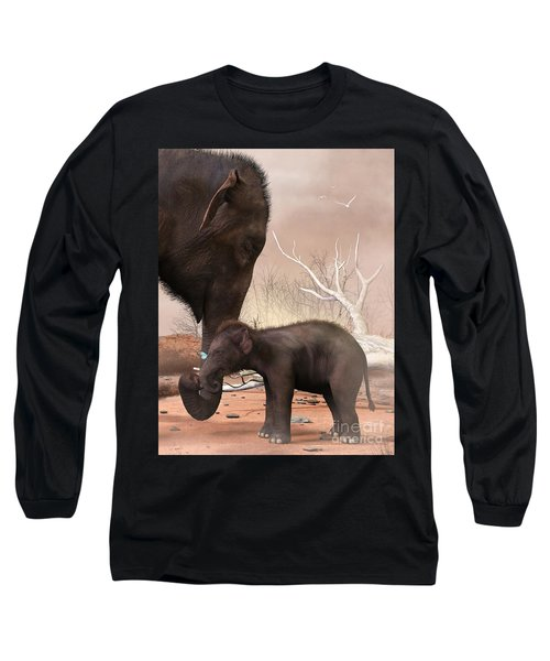 Baby Elephant Long Sleeve T-Shirt