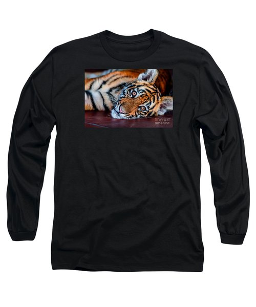 Baby Tiger Long Sleeve T-Shirt