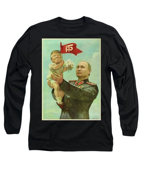 Baby Trump Putin Long Sleeve T-Shirt