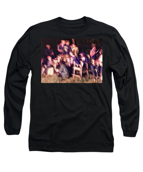 Bacchanalian Freak Show With Hieronymus Bosch Treatment Long Sleeve T-Shirt