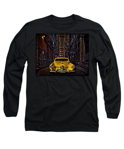 Back Alley Taxi Cab Long Sleeve T-Shirt