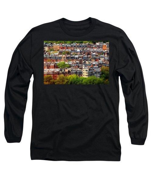 Back Bay Long Sleeve T-Shirt by Rick Berk