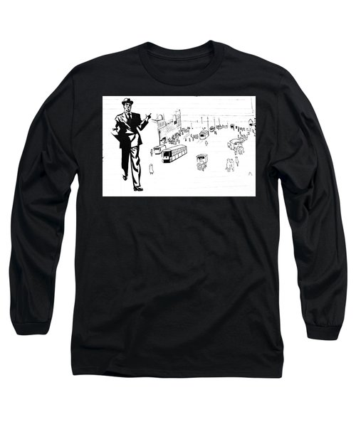Back In Early Twenties. Long Sleeve T-Shirt by Yurix Sardinelly