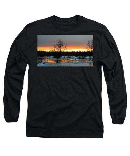 Back Roads Of Clayton Long Sleeve T-Shirt