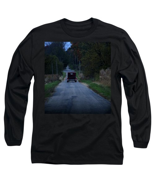 Long Sleeve T-Shirt featuring the photograph Back Roads by Rowana Ray