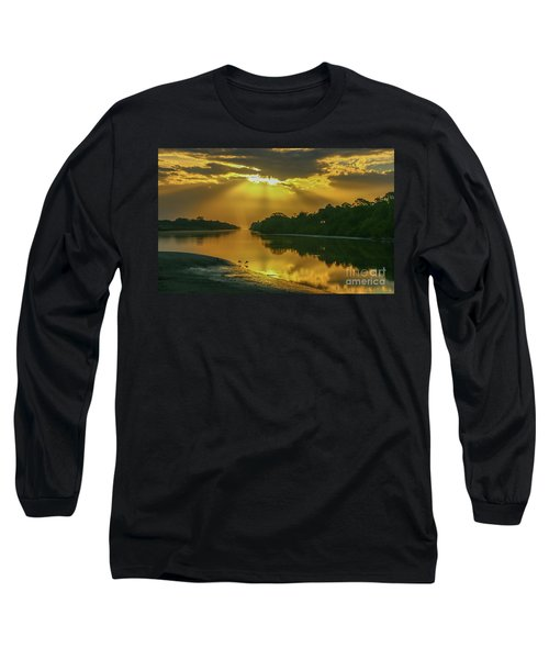 Back Up Reflection Long Sleeve T-Shirt