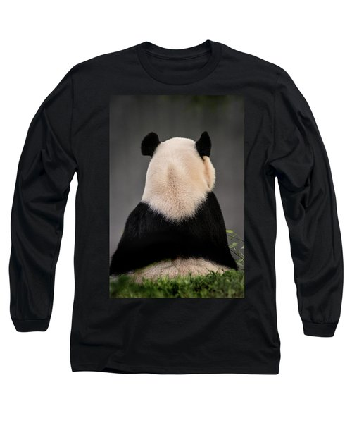 Backward Panda Long Sleeve T-Shirt