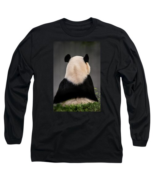 Backward Panda Long Sleeve T-Shirt