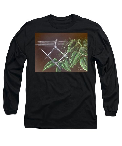 Backyard  Long Sleeve T-Shirt