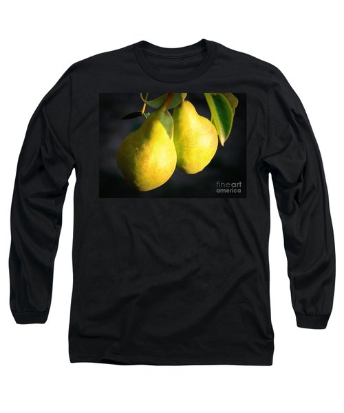 Backyard Garden Series - Two Pears Long Sleeve T-Shirt