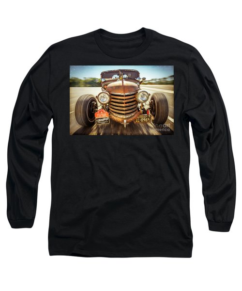 Long Sleeve T-Shirt featuring the photograph Bad Boy's Toy by Jola Martysz