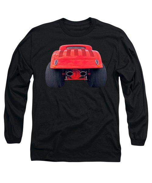 Badass Hotrod Long Sleeve T-Shirt