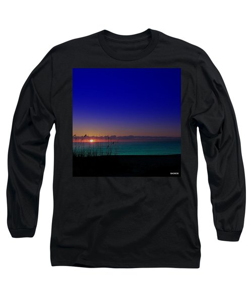 Badblue Sunrise  Long Sleeve T-Shirt
