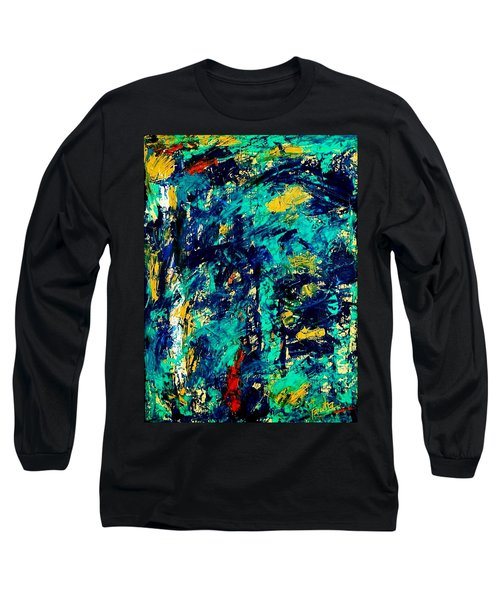 Baffled  Long Sleeve T-Shirt