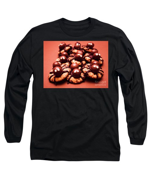 Baked Halloween Spider Cookies Long Sleeve T-Shirt