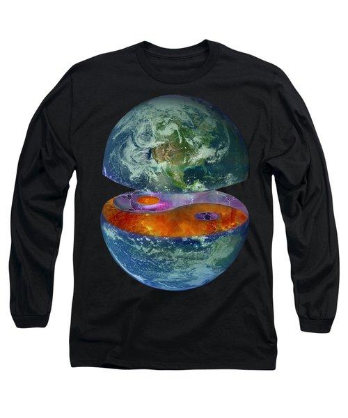Balance T-shirt Design Long Sleeve T-Shirt