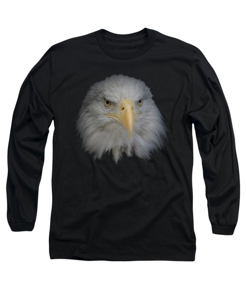Long Sleeve T-Shirt featuring the photograph Bald Eagle 1 by Ernie Echols