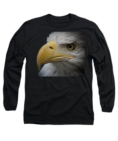 Long Sleeve T-Shirt featuring the photograph Bald Eagle 2 by Ernie Echols