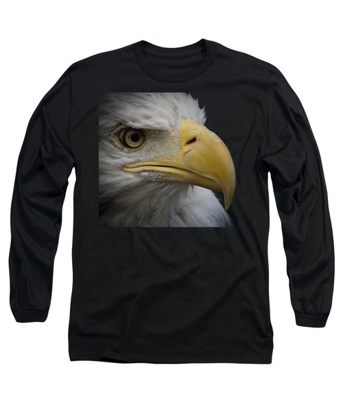 Long Sleeve T-Shirt featuring the photograph Bald Eagle 3 by Ernie Echols