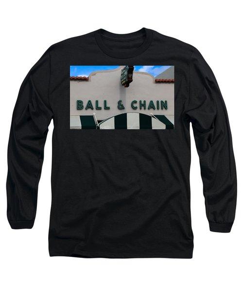 Ball And Chain Long Sleeve T-Shirt