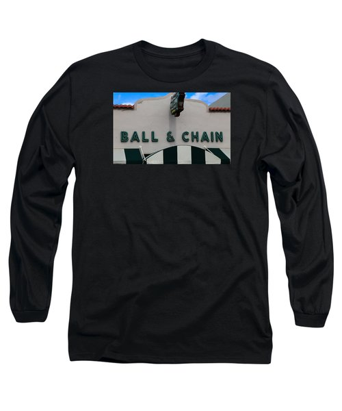 Ball And Chain Long Sleeve T-Shirt