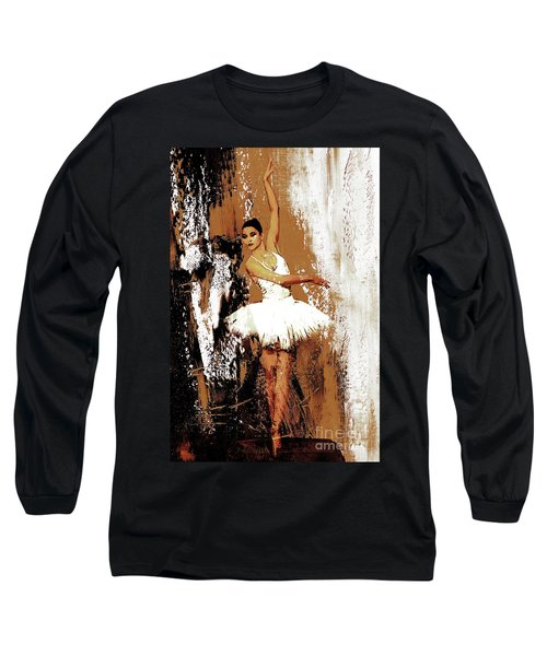 Ballerina Dance 093 Long Sleeve T-Shirt