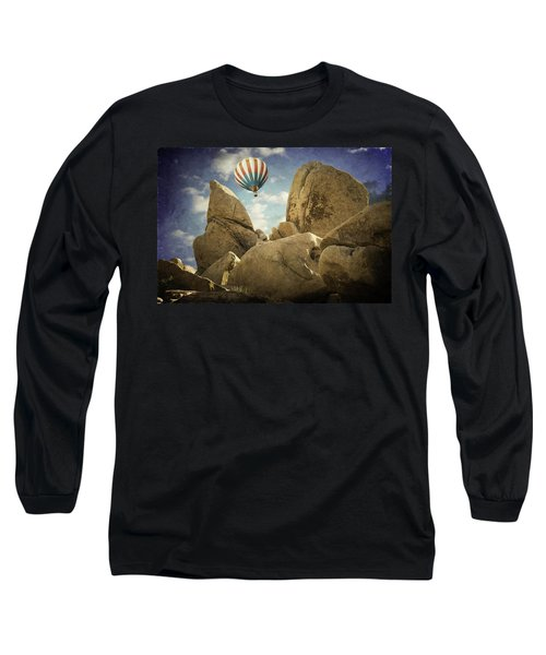 Ballooning In Joshua Tree Long Sleeve T-Shirt