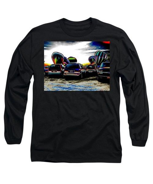 Long Sleeve T-Shirt featuring the photograph Balloons by Greg Patzer