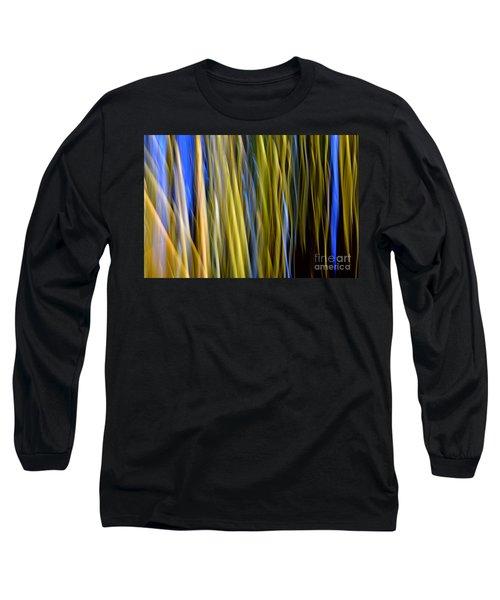 Bamboo Flames Long Sleeve T-Shirt