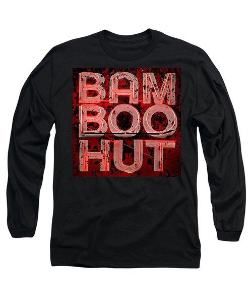 Bamboo Hut Long Sleeve T-Shirt