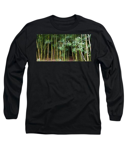 Bamboo Wind Chimes  Waimoku Falls Trail  Hana  Maui Hawaii Long Sleeve T-Shirt